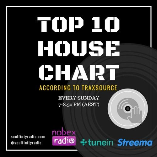 Traxsource Top 10 House Chart W/e 17-07 By Soulfinityradio