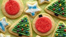 Iced Sugar Cookies at Trisha's