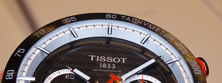 Tissot PRS 516 Automatic Chronograph - detalle de la esfera