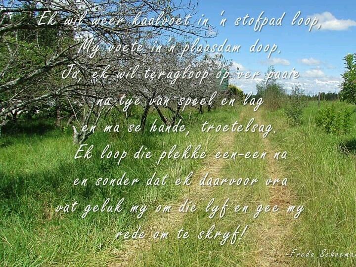 Poem Freda Schoeman
