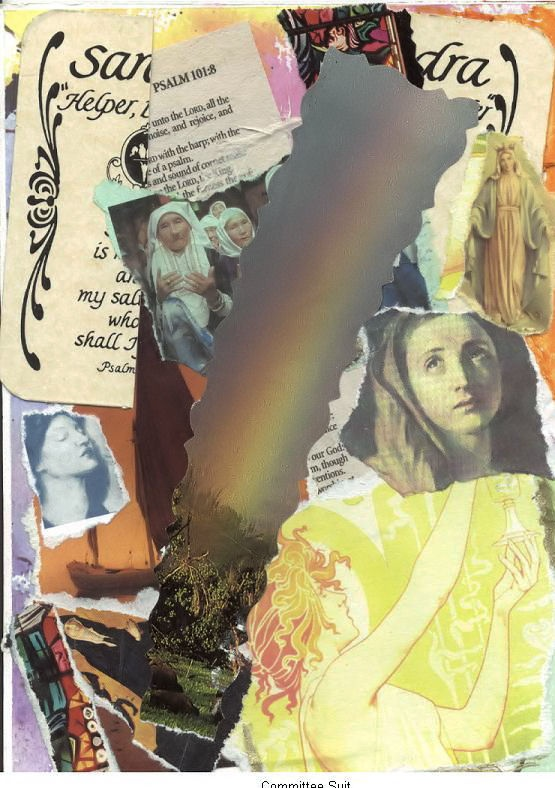 Faith Card collage