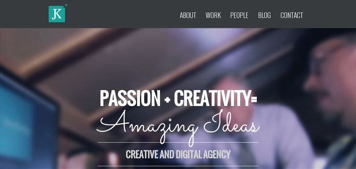 This agency has a clean web design: http://www.webdesign-inspiration.com/web-design/jkdesign-com-11256