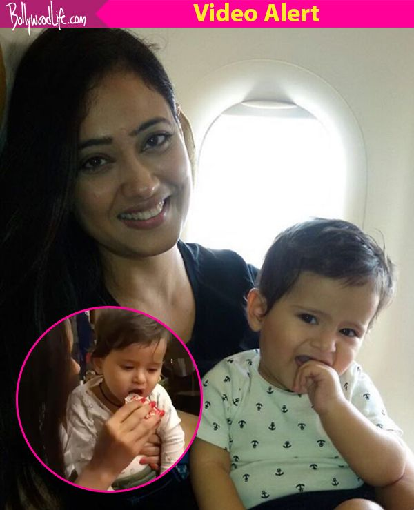 Shweta Tiwari's son Reyansh tastes ketchup for the first time and his reaction is PRICELESS – watch video #FansnStars