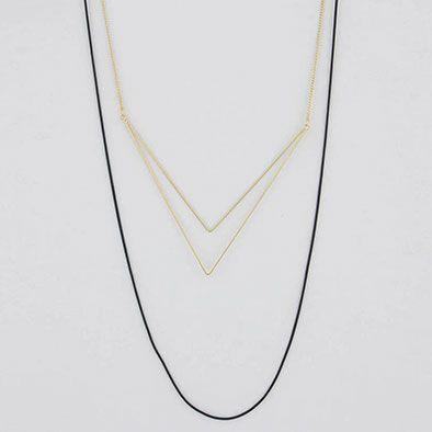 Colar Geométrico Lara - Dourado(A)