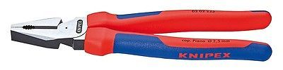 Knipex 0202225 9 High Leverage Combination Pliers - Comfort Grip