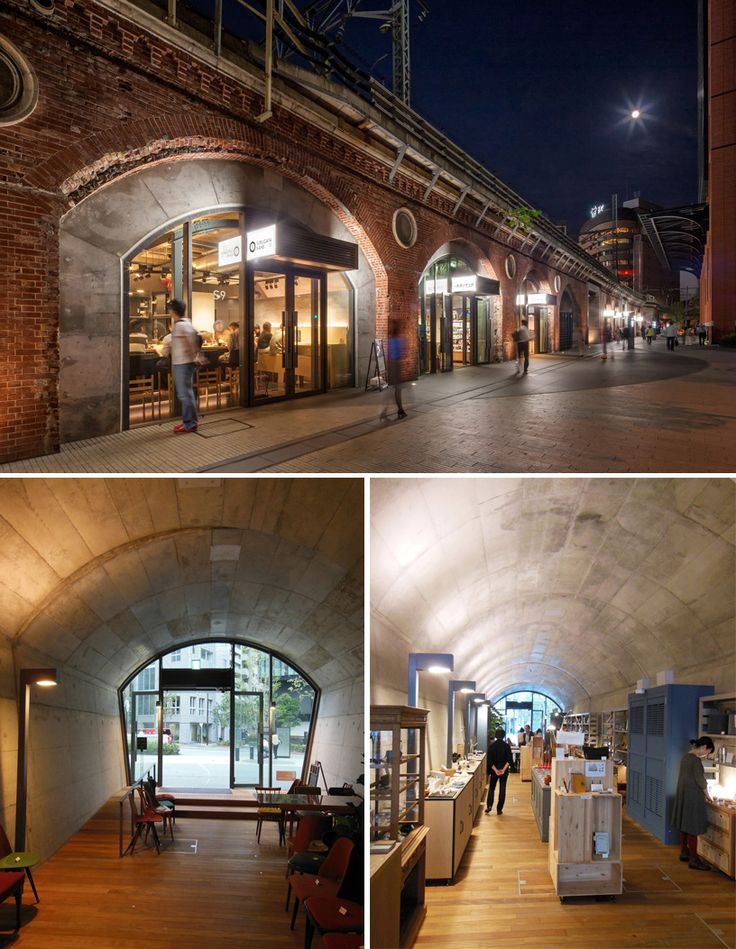 mAAch マーチ エキュート 神田万世橋 (mAAch ecute kanda manseibashi) - adaptive reuse of one of tokyo's oldest train stations into mixed use commercial facility