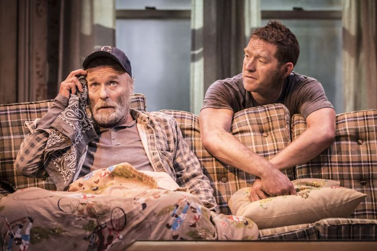 Ed Harris & Barnaby Kay in Buried Child, Trafalgar Studios, photo Johan Persson https://www.fromtheboxoffice.com/3LM9-buried-child/