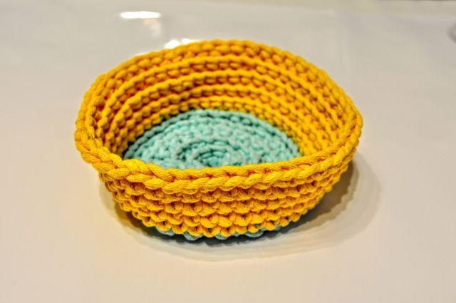 OPLOTKI jedna z kolorowych miseczek bawełnianych