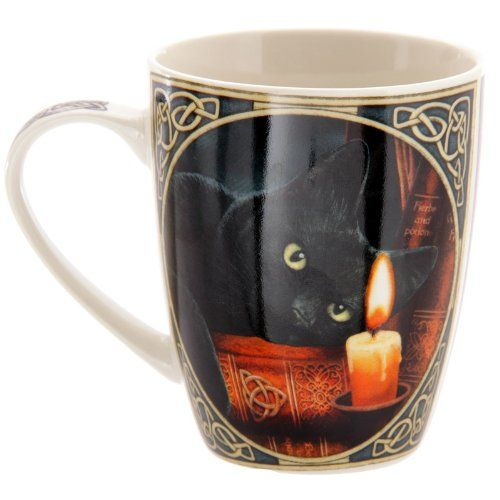 FYI: Puckator MULP21 Lisa Parker Mug Chat Noir 8,5 x 12 x 10 cm