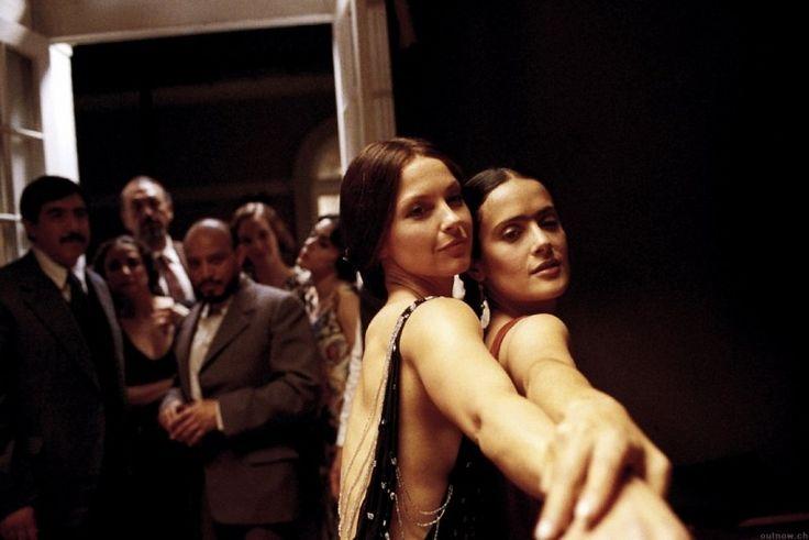 in Frida...Frida and Tina Modotti, Selma Hayek and Ashley Judd