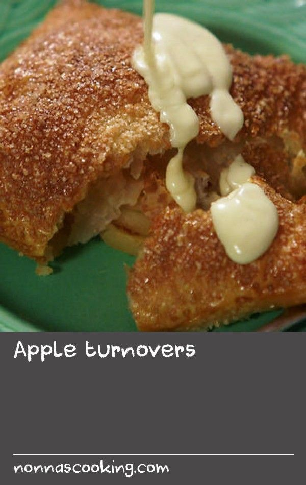 """Apple turnovers 