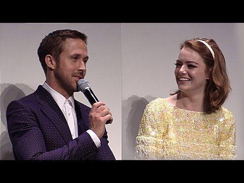 Emma Stone Premiere La La Land at TIFF 2016 (Interviews) - YouTube