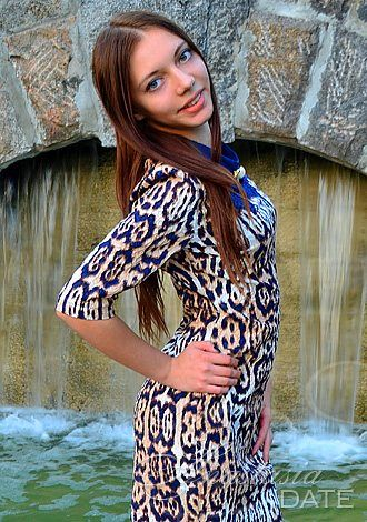 Russian single Kristina from Kharkov, 19 yo, hair color Chestnut