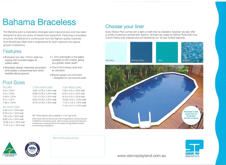 1000 images about sterns above ground pools on pinterest for Most popular above ground pools