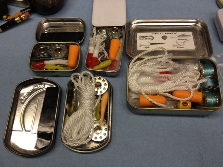 86 best altoids tin kits images on pinterest altoids for Survival fishing kit