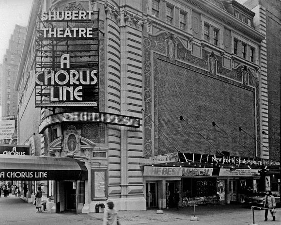 Image result for a chorus line opening broadway in 1975