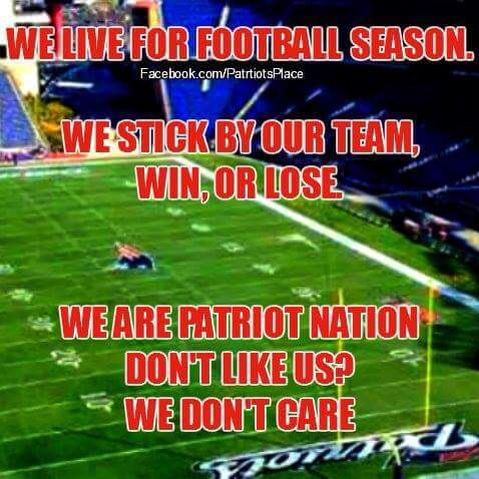 #PatriotsNation