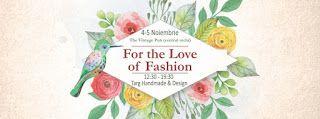 HandmadeFairs: Targ Handmade Design & Fun 4-5 Noiembrie 2017