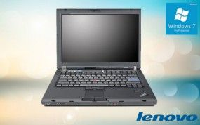 Lenovo ThinkPad T61 1.Wahl Intel T7100 Core 2 Duo 2GB DDR2 80GB DVD W7P...