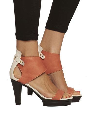 Emerson Ankle Cuff Platform Sandal - Peach - was $165