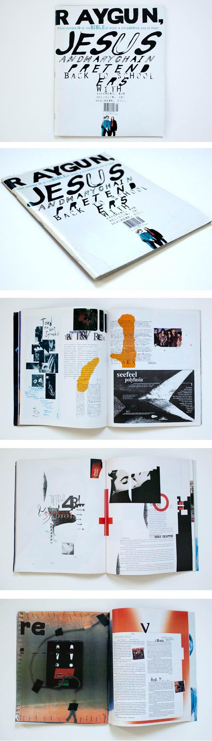 ¡TIPOGRAFÍA! Identidad. ¡Ojo con el orden de lectura y la interpretación de cada una de las partes de la revista!