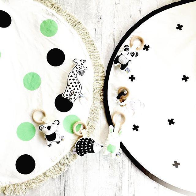 This beautiful order went off to SPAIN today - 2 X organic, handprinted playmats, Organic giraffe rattle toy, koala teether, panda teether, mint bunny teether, hedgehog teether (all organic) and a exclusively designed teether made for me by @naturebubz  . . . . . #playmat #organic #handmade #kidsdecor #kidsinteriordesign #childrensinteriordesign #madeinaustralia #supportsmall #nurseryinspo #nurserydesign #nursery #mintandblack #mint #monochrome #monochromebaby #babytoys #organictoy