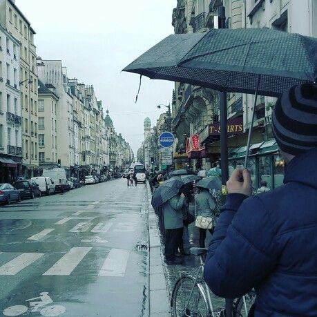 Street view in Paris
