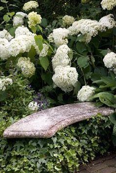 Garden bench ✿⊱╮