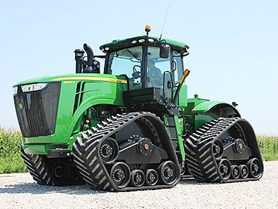 John Deere with ATI tracks | Premium Ag Solutions