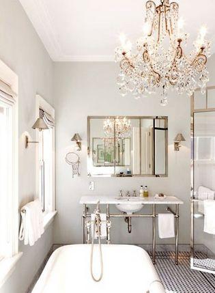 25 Best Ideas About Bathroom Chandelier On Pinterest Master Bath Bath Tubs And Crystal Bathroom Lighting