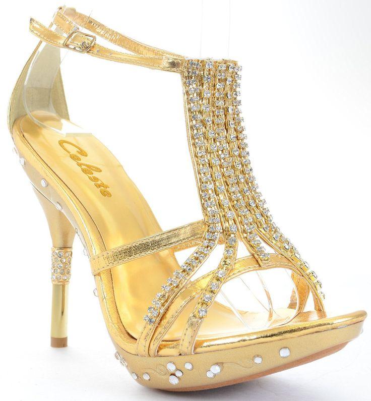 Funky Prom Heels