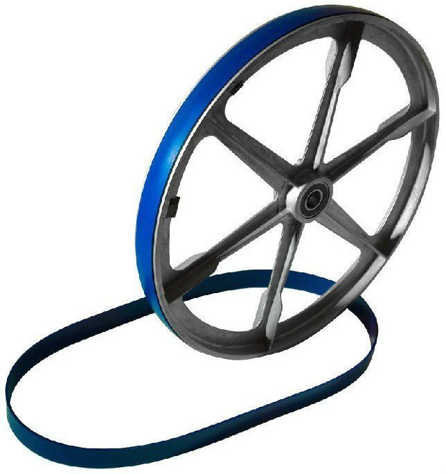 3 Urethane Bandsaw Tires And Round Drive Belt Set For Tradesman Model T7060-20P