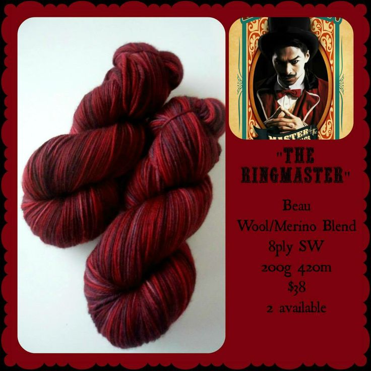 The Ringmaster - The Greatest Show on Earth | Red Riding Hood Yarns