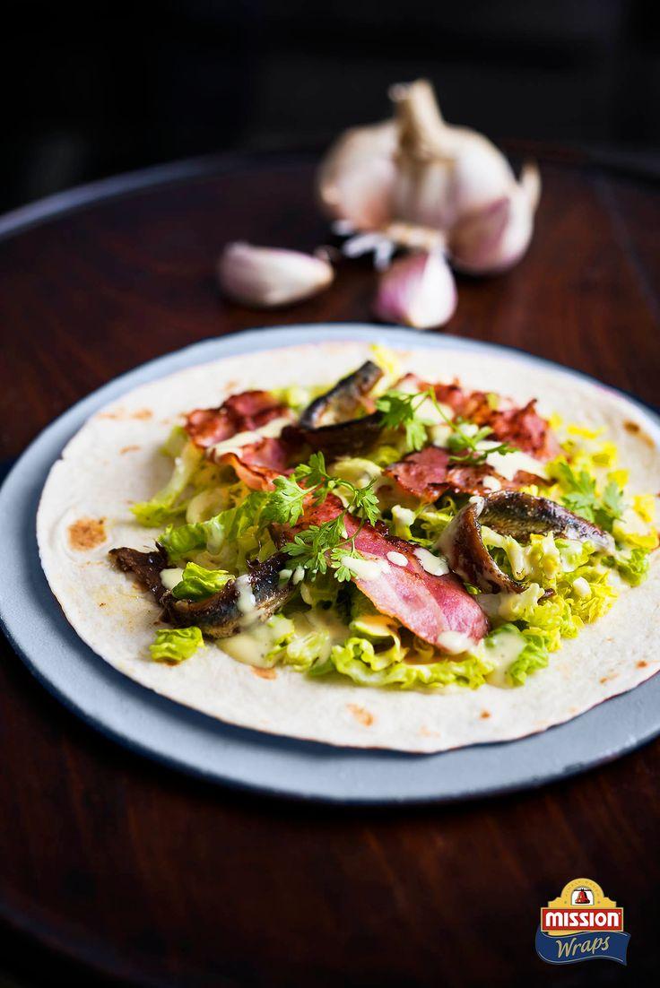 #missionwraps #wraps #food #inspiration #meal #colors #caesar #salad #garlic www.missionwraps.es