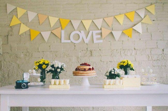 Casamento em estilo faça você mesma (DIY)