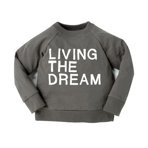 Living the Dream 'Not so Basics' Raglan - mini mioche - organic infant clothing and kids clothes - made in Canada