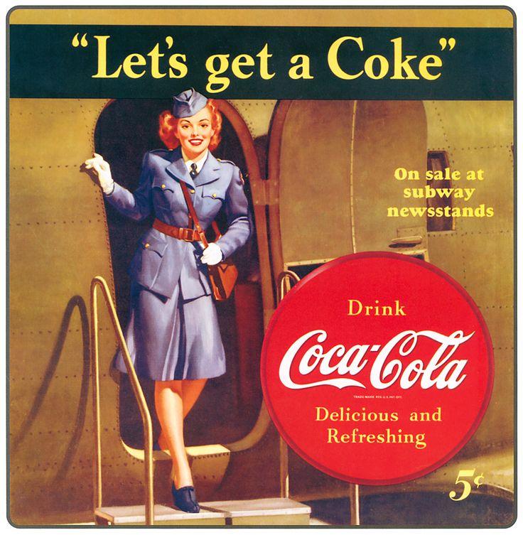1458 best coca cola images on pinterest coca cola ad vintage ads and coke. Black Bedroom Furniture Sets. Home Design Ideas