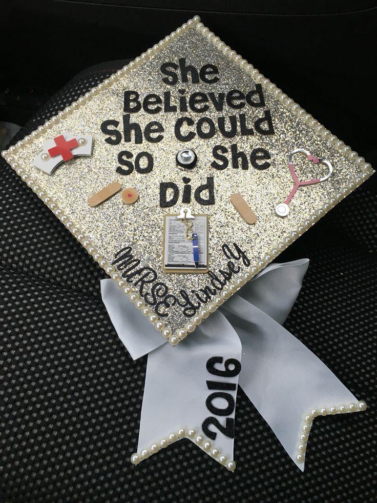Nursing cap for graduation