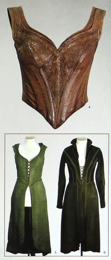 Made this pin for my daughter for 4H. Tauriel, the Hobbit trilogy | costume. Leather bodice. Overdress and underdress... the hoodie one has a detachable skirt according to Weta Chronicles: Cloaks and Daggers.