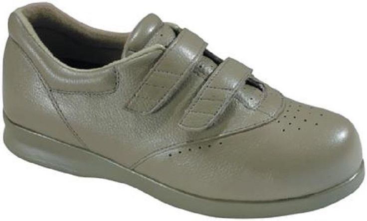 $152 Drew Shoes PARADISE II Womens 8.5 W Wide Taupe Walking Diabetic Orthotic #Drew #Oxfords