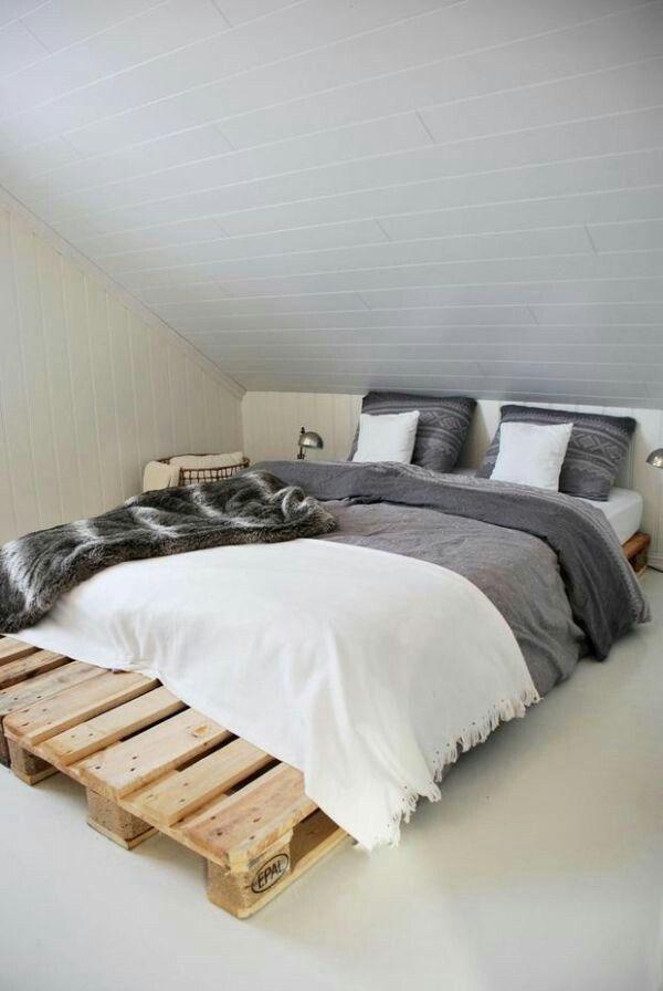 Mejores 20 imágenes de Cama no chão en Pinterest   Habitación ...