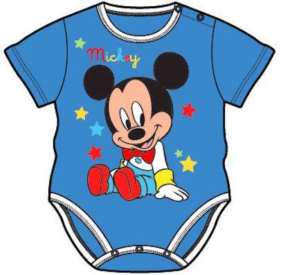 Detské body Disney - MICKEY MOUSE, modré http://www.milinko-oblecenie.sk/6-24-mesiacov-2/strana-4/