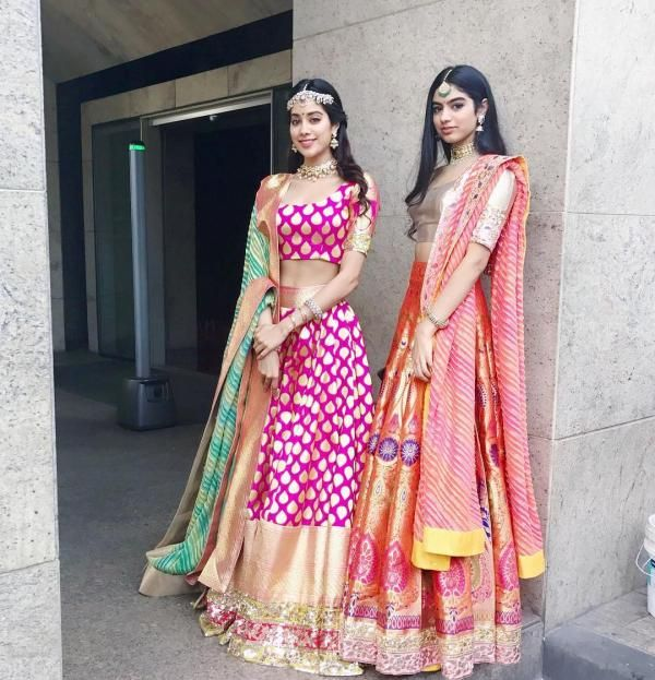 SRIDEVI'S DAUGHTER'S KHUSHI AND JHANVI