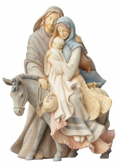 Foundations Nativity by Karen Hahn for Enesco at Fiddlesticks