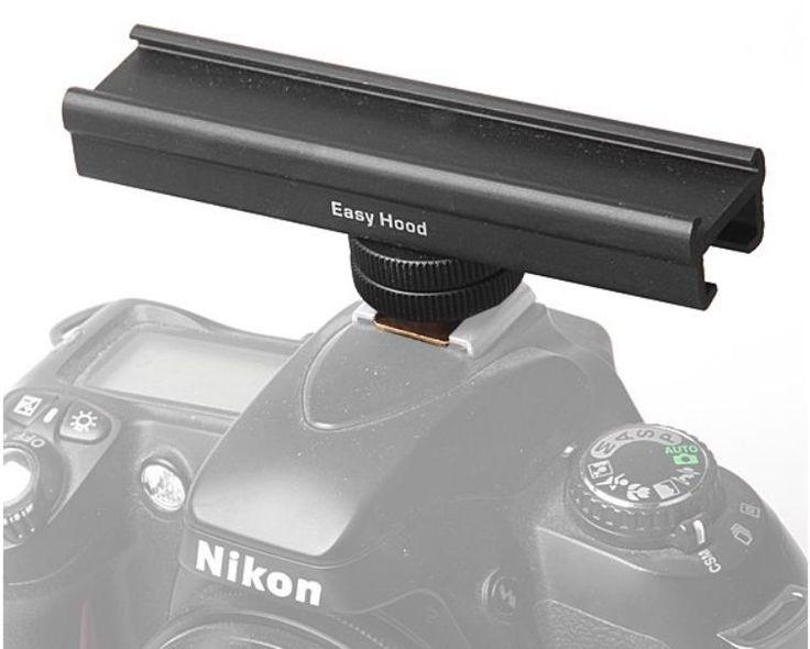 Легко Худ 4 10 см Flash Кронштейн Горячей/Холодной Чистка Расширение Железнодорожных Бар для Цифровой Зеркальный Фотоаппарат Canon Nikon Светодиодные лампы Видео Микрофон