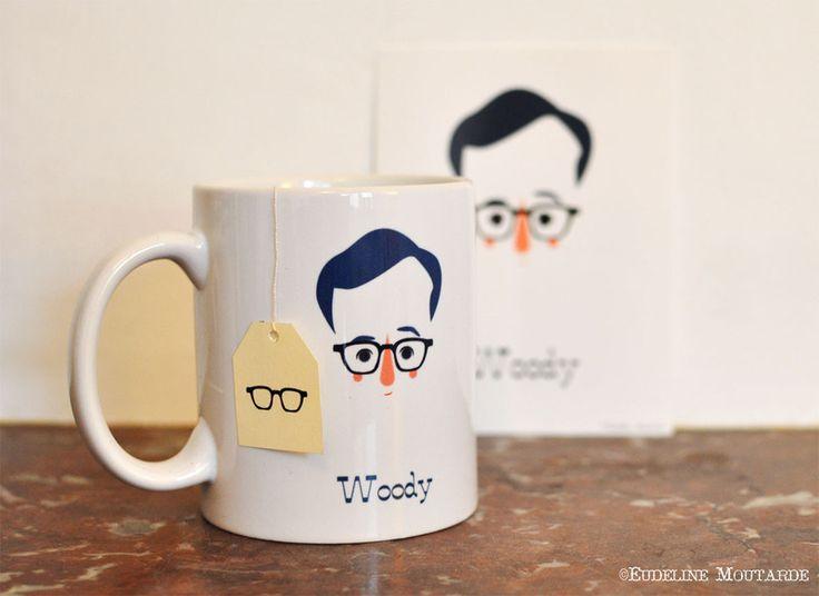 Un petit thé, ca Woody ?: Sachets De, Sons Sachets, Teas Time, Coff Mugs, Coff Time, Woody Cups, De Thé, Woody Allen, Petite Thé
