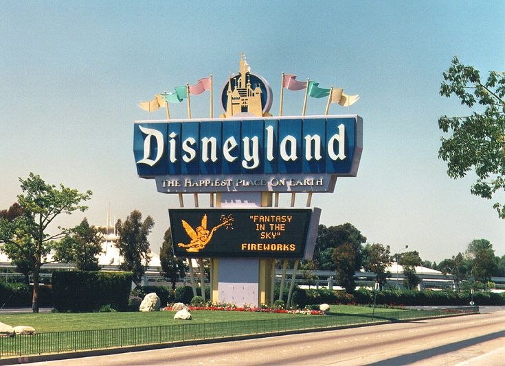 Disneyland/ I been fortunate to having grown up in California ...
