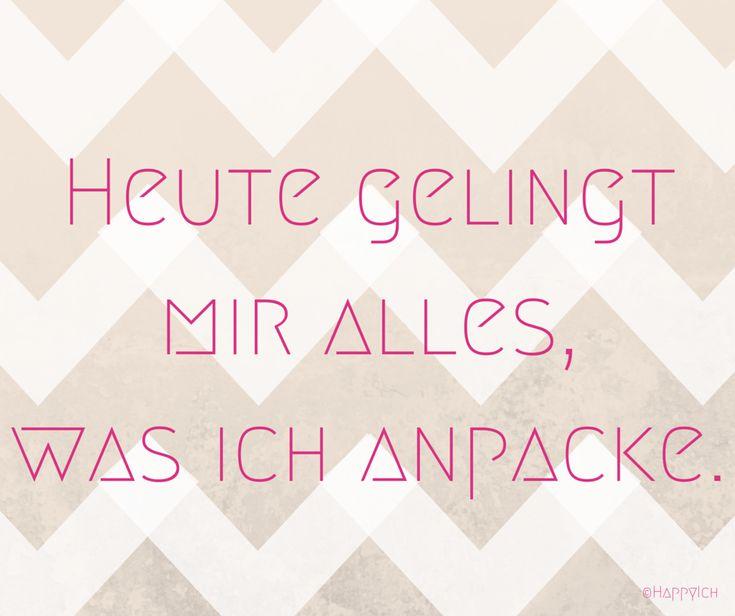 Affirmation, Mantra, Motivation für einen produktiven Tag! #affirmation #mantra #deutsch