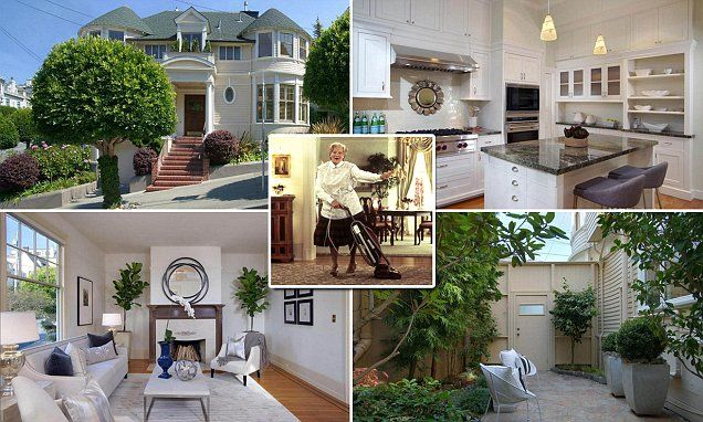 The Mrs. Doubtfire house is on sale for $4.45 million