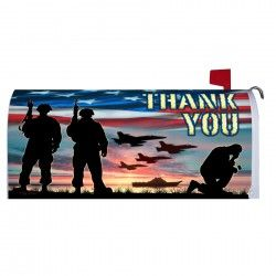 Magnetic Mailbox Cover Thank You